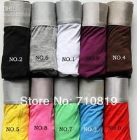 Free shipping 93%cotton 7% lycra Men's Underwear men's short boxers Wholesale