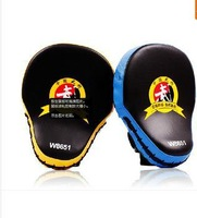 2pieces/lot ! Muay Thai MMA Boxing Gloves Sandbag Punch Pads Hand Target Focus Training Circular Mitts for Kick Fighting