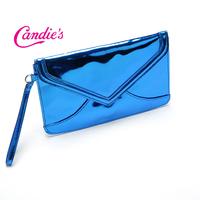 FREE SHIPPING! women day clutches blue fluorescence everning bags lady messenger bag Sweet Women's Handbag ladies envelope bag