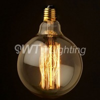 2013 Hot selling factory price vintage edison bulb Lamp E27 220/110V 40W G125 christmas decoration bulb free shipping above 4pcs