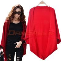 2015 autumn women's sweater cardigan long design shoulder width sweater outerwear all-match sweater