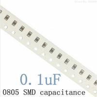 0805 104K/50V 100nF 0.1uF X7R SMD capacitance / 0805 Multilayer chip ceramic capacitor (500pcs/lot)