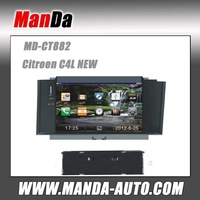 Factory price + free shipping 3G Car DVD autoradio gps for Citroen C4L NEW