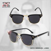 1305  Inspired Men's Vintage Retro Eyewear Elegant Half Rim Unisex Sunglass 400 uv Women  Glsses Men Oculos  ray De Sol Eyewear