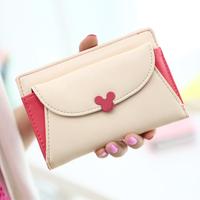 New arrival 2013 female candy color flip multifunctional short design wallet day clutch coin purse  purse women wallet women