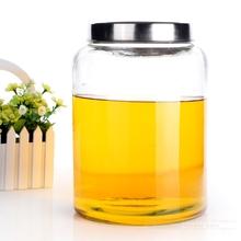 Super large glass storage jar stainless steel(China (Mainland))