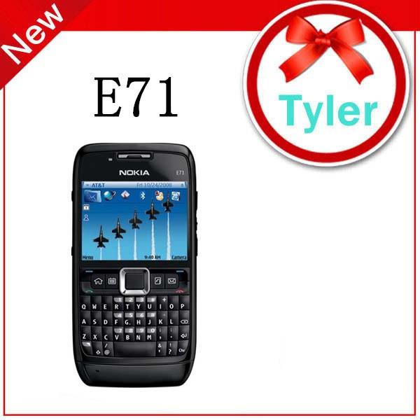 Original Nokia E71 WIFI GPS JAVA 3G Unlocked Mobile Phone multi language ,Free Shipping(China (Mainland))