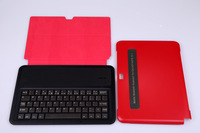 2013 New ultrabook 5mm Aluminum Wireless Bluetooth Keyboard for samsung galaxy Note 10.1 10 1 N8000 N8100 Keyboard cases covers