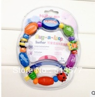Lovely insects annular permanent tooth, teeth massager to protect baby gums