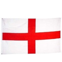 England Flag 3'x5'Brand NEW 3x5 ENGLISH ST GEORGE CROSS