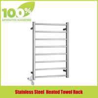 Free Shipping Brand New 304 Stainless Steel  Mirror  Polish Heated Towel Rail Ladder Rack  Size 920x500mm  Bathroom Towel Rack