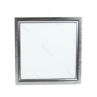 Bright Square Panel LED 10W Kitchen Hotel Office Ceiling Light White Lamp Bulb