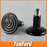 Free shipping 3pcs/lot Far infrared ceramic heat lamp heater ceramic heater hatch pet heating Incubation heater 220V 100W #IB148