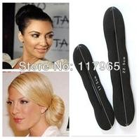 Min.order is $10 (mix order)1 PCS Fashion Foam Sponge Style Magic Bun Former Hair Styling Maker Tool Clip Twist  ZYJ59