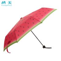 Nice Watermelon umbrella sun protection umbrella super sun dual ultra-light folding sun umbrella pencil umbrella free shipping