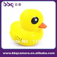 2013 newest speaker!mini yellow rubber duck speaker with TF/USB