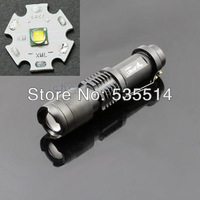 Super Mini CREE XML-T6 1600 Lm LED Lamp Flashlight Zoomable Focus Torch Light