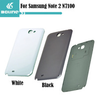 100% Original Battery Door Back Cover For Samsung Galaxy Note II 2 N7100 Replacement Housing Parts With Logo Free Shipping