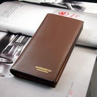 Wholesale leather wallet Business Men's Luxury Brand Wallets men's purse wallet Free Shipping C723-1