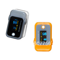Color OLED Fingertip Pulse Oximeter with Audio Alarm & Pulse Sound - Spo2 Monitor home care clinic use