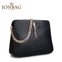 2013 women's handbag classic noble crocodile pattern chain one shoulder handbag bags