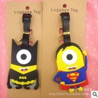 Free shipping 2013 New design 2pcs/lot minion despicable me ID case Super Hero minion