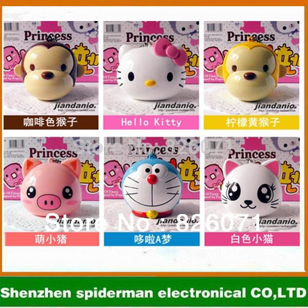 Cartoon portable Pig/rabbits/panda mini usb speaker ,music player, computer/mobile phone speaker(China (Mainland))