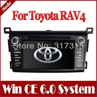 In Dash 2-Din Car DVD Player for Toyota RAV4 2013 with GPS Navigation Stereo Radio Bluetooth TV USB Auto Audio Video Navigator