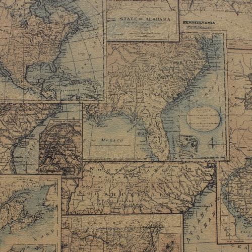 Online kopen wholesale europe map wallpaper uit china europe map wallpaper groothandel - Vintage bank thuis van de wereld ...
