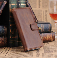 Retro Wallet Style Crazy Ma Wen PU Leather Case Case For iPhone5C ,Support a large number of wholesale, Free shipping 5pcs/lot