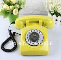 Retro Telephone Landline Telephone Rotary Antique Telephone Fashion Vintage Rustic