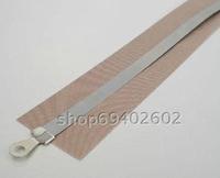 8MM Wide Flat Wire Heat Element & Teflon Adhesive Cloth Kit for 200,300,400,500mm Long Impulse Sealer