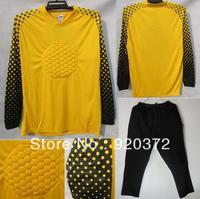 new2014 Brazilian World Cup soccer goalie uniforms longmen goalkeeper goalkeeper jersey under long suit