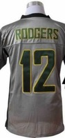Fast Shipping Cheap Wholesale Elite/game American Football Jerseys #12 Rodgers Jersey Embroidery Logos Mixed Order