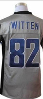 Fast Shipping Cheap Wholesale Elite/game American Football Jerseys #82 WITTEN Jersey Embroidery Logos Mixed Order
