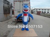 Professional New Blue Shark Mascot Costume Adult Size Fancy Dres