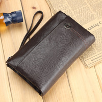 Clutch 2013 male bag cowhide casual day clutch commercial clutch male clutch large capacity bag men