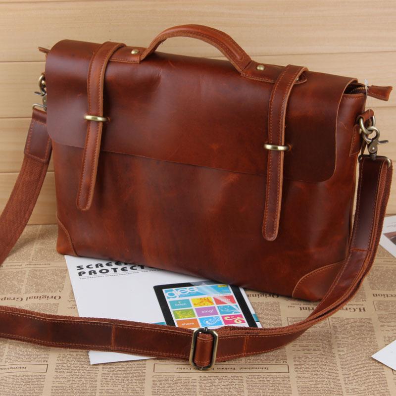 Купить мужские кожаные портфели в интернет