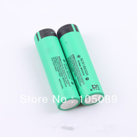 2PCS/lot New Original18650 NCR18650A Rechargeable Li-ion battery 3100mah For Panasonic laptop