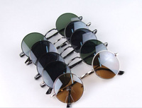 Free Shipping New Hot Selling Fashion Men Women Sunglasses Fashion Style Unisex Oversize Circular Sunglasses