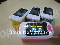 100% warranty pink, blue , yellow , gray oxgyen monitor spo2 pr fingertip pulse oximeter low $$$ OLED waveform sf 34 freeship