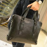 Handbag male fashion male briefcase commercial men's file tote bag casual bag vintage