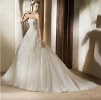 2013 Hot sale OP-20 Elegant Mermaid Sweetheart Beaded Wedding Dress Party dress Custom-made Weddings & Events