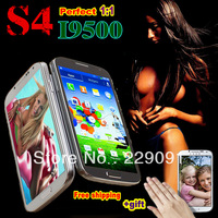 5 lnch Android S4 Galaxy I9500 phone Quad Core Original MTK6589 I9502 Air gesture 2GB RAM Capacitive Screen 3G WIFI Smart phone