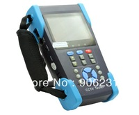 "Free shipping!!Free 4GB + HVT-2611 3.5"" TFT-LCD CCTV Camera Tester PTZ PING Optical Power Meter"