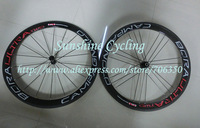 2013 New 3D effect Dark Label G3 Geometry white/red Campagnolo Bora ULTRA Two 50mm 700C Tubular carbon bicycle wheelset