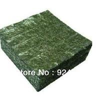 Free Shipping!50pcs/Bag Nori Seaweed Korean Seaweed Snack Kim Nori Quality A Green Food