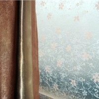 Width92cm*coil,Thicken Static Cling PVC Reusable Films Home Decor Windows Stickers Block Sight Anti-UV Window Film