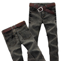 High Quality 2013 Men's Trousers Dark Grey Slim Pencil Pants jJans Casual Men's Skinny Pants Man Fashion Clothing