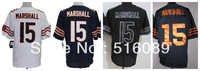 Free Shipping #15 Brandon Marshall Men's Elite Football Jersey ,Embroidery Logos American Football Jersey,Size M--3XL